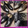 Men (C-233)のための2015年の中国の製造所Fashion DesignイタリアのHandmade Shiny Leather Wedding Shoes