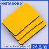 Panel de revestimiento garantizado calidad de la construcción del metal de PVDF y de la capa
