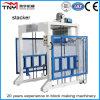 Empilhador automático das etapas para o bloco que faz a maquinaria