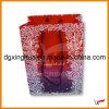 Sacco di carta rosso di goffratura (XH-237)