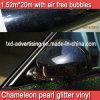 Яркий блеск Car Wrapping Film Diamond Pearl хамелеона с воздушными пузырями