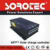 Regulador solar 12V 24V 48V de la carga de MPPT con la estación de la energía solar, la aplicación solar del sistema eléctrico etc del hogar