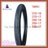 6pr 275-17 250-18のナイロン管のオートバイのタイヤ