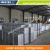 Frigorifero solare e frigorifero del doppio portello con il comitato solare