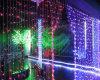 Trennvorhang-Leuchte-Weihnachtsdekoration-Beleuchtung 35 w-LED
