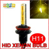 C.C. 35W 3000k Yellow/Amber Best de H11 Single Beam HID Xenon Bulbs para Fog Lamp H1 H3 H4 H7 H8 H9 H27 880 9005 9006 (GG04)