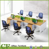 Modern Office Employee Workstation de Modual Linear Table Bureau