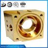 Parti d'ottone/di alluminio di precisione lavorare su ordinazione di CNC con metallo che elabora processo