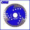 Turbo Diamond Corrugated Saw Blade com Protective Teeth