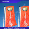 Fabrik der Polyester-im Freien hängenden Fahne, fliegende Markierungsfahne, Markierungsfahne bekanntmachend