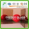 vidrio de ventana de cristal tejido 5.6mmbronze de los muebles del vidrio modelado