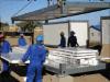 Construcción de viviendas prefabricada portable del envase de la estructura de acero