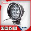 60 Watt Ronda luz de conducción del LED (luz de trabajo LED) para Jeep, camiones y vehículos 4WD