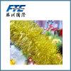 2cm het Klatergoud van Kerstmis van pvc voor de Decoratie van de Kerstboom