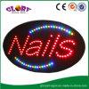 Il LED inchioda il segno chiaro del segno per i giorni di Natale