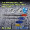 SDS plus de Enige Bit van de Boor van de Hamer van de Fluit voor Beton