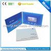 Impresión modificada para requisitos particulares tarjeta de felicitación video del LCD de 4.3 pulgadas