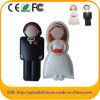 De Schijven van het Geheugen van de Flits van de Gift USB van het Huwelijk van de Aandrijving van de Pen van de douane (B.V. 024)