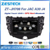 Véhicule d'écran tactile de Zestech 2 DIN DVD GPS pour JAC J4 avec l'acoustique Bluetooth de Raido