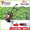 el mejor jardín del poder más elevado del precio 72cc empuja el cultivador manualmente