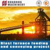 Rohstoff-Förderanlage für großes Stahlwerk