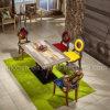 A mobília brilhante do restaurante da madeira contínua ajustou-se com a cadeira redonda oca (SP-CT807)