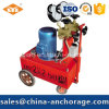 Pompe à huile électrique à tension de post-production utilisée pour le pré-étagé
