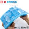 21 Eis-Würfel-Tellersegment der Kammer-buntes quadratisches Form-Silikon-Eis-Form-DIY mit Kappe