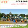 Fabrik-Preis-Kind-Plastikspielplatz-Geräten-im Freienspielplatz für Verkauf