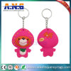 13.56MHz personalizados Waterproof Keyrings da recompensa de RFID NFC/smart card