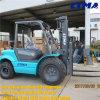 China Forklift 3 Ton Rough Terrain Forklift Especificação