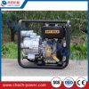 Venta caliente basura de 3 pulgadas/bomba de agua sucia por el motor diesel 6HP