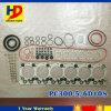 掘削機エンジンの予備品PC300-5 6D108の完全な分解検査のガスケットキット