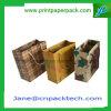Sac de empaquetage de papier d'emballage d'emballage de sucrerie de transporteur d'achats de sac de cadeau