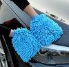 OEM Chenille Handdoek van de Doek van de Auto de Schoonmakende met Waterdichte Voering