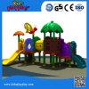 Lustiges Plastikschwingen und Plättchen-im Freienspielplatz für Kinder