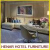 Sofá ajustado/secional do sofá de couro moderno do canto do sofá do plutônio