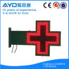 Farmácia transversal do diodo emissor de luz do uso ao ar livre programável do gabinete do ferro