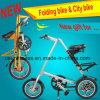 Aluminiumlegierung-Stadt-faltendes Fahrrad mit 16 Zoll
