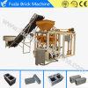 Bloco oco concreto Semi automático de Qt4-24b que faz o preço da máquina