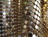 Tissu métallique / rideau en mousse métallique / paillettes en métal