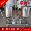Sistema de la limpieza del CIP, equipo de la cervecería de la cervecería de la barra de la cerveza