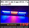 Lumières bleues d'instantané de pare-brise de l'ambre DEL pour des véhicules