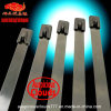 4.6X350mm de Zelfsluitende Banden van de Kabel van het Roestvrij staal