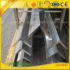 Customzied sacó perfil de la protuberancia del t V/U/I del aluminio para la construcción