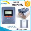 MPPT 20A 12V/24Vは太陽コントローラUbs-5V/2A最大PVの55V/90V Mt2075二倍になる