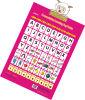 Pronunciação inglesa educacional que aprende o enigma do Peg (ZK20)