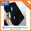 Strato rigido lucido nero del PVC per materiale da costruzione