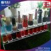 Grand stand acrylique d'étage d'étalage de vernis à ongles d'approvisionnement