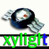 RGB leiden van de hoge Macht (x-y-SLRGB1C)
